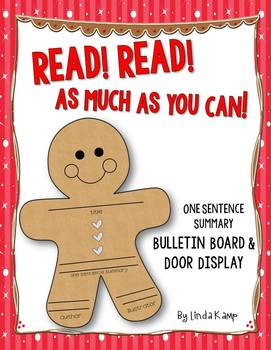 The Gingerbread Man Bulletin Board Display FREE Read! Read