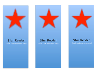 Read, Read and Never Stop Bookmark (Printable)