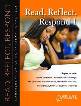 Read, Reflect, Respond Book 1