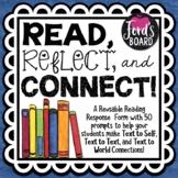 50 Reading Response Prompts