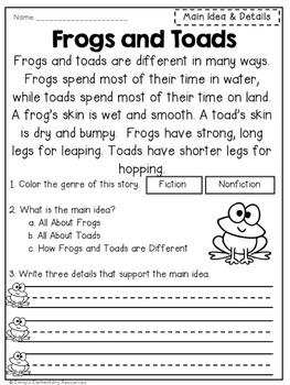 Read & Respond Close Reading Activities
