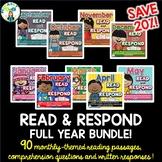 Read & Respond FULL YEAR BUNDLE!