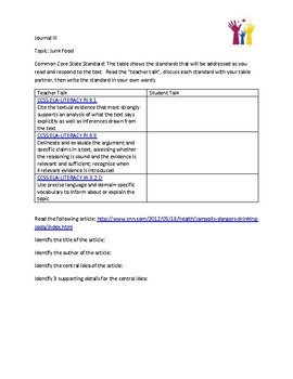 Read & Respond - Informational Texts