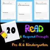 Read & Respond Prompts - Pre-K & Kindergarten