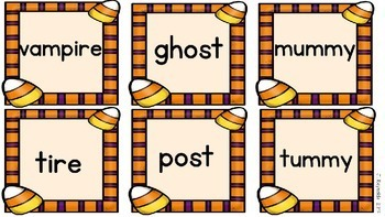 Read, Rhyme, Write!  A Halloween Book Companion Pack