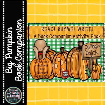 Read, Rhyme, Write!  A Halloween Book Companion Pack