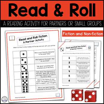 Read & Roll: A Stress-Free Reading Activity