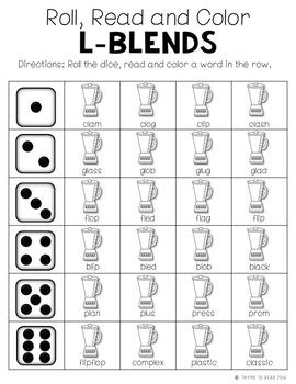Consonant Blend Practice