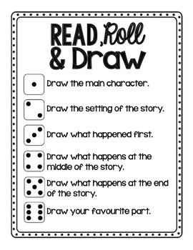 Read, Roll, and Draw