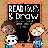 iPad QR Reading Response Dice Game for Centers: Read, Roll, and Draw