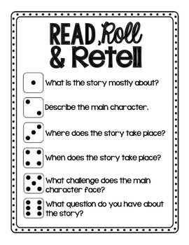 Read, Roll and Retell