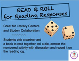 Read & Roll for Reading Responses, Literacy Centers, Student Collaboration