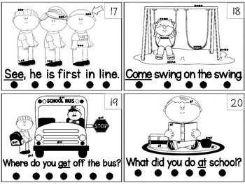 Read, Search and Find Sight Words
