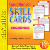 Read & Sequence (Reading Level 2.0-3.5)