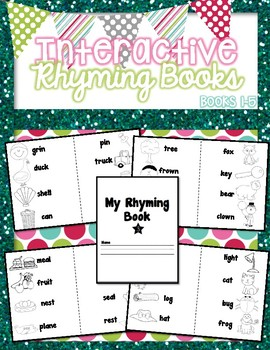 Ready, Set, Rhyme! Interactive Rhyming Books.
