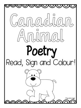 Read, Sign and Colour BUNDLED Poetry {Reading, Fluency, and Expression}