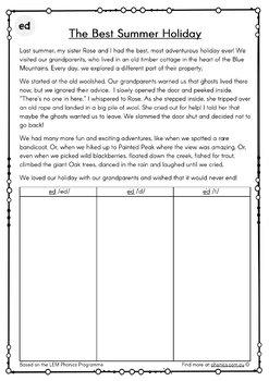 Read & Sort - Multiple Phonograms