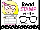 Read Stamp Write - Kindergarten Sight Word Activity