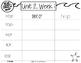 Read, Stamp, Write 1st Grade Spelling Words, Unit 2