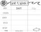Read, Stamp, Write 1st Grade Spelling Words, Unit 4