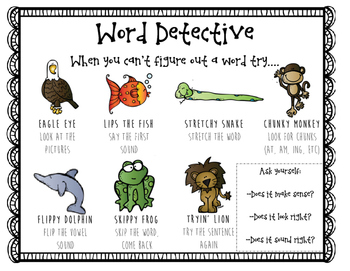 Read Strategies Word Detective