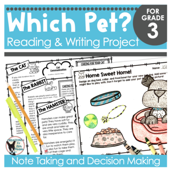 Reading and Writing Project | Pet Edition
