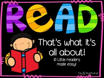 Read! That's what it's all about!