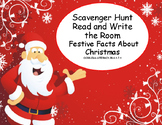 Festive Facts About Christmas-Reading-Scavenger Hunt-Grades 4-7