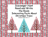 Interesting Facts About Christmas Trees-Reading- Scavenger Hunt-Grades 4-7