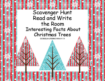 Interesting Facts About Christmas.Interesting Facts About Christmas Trees Reading Scavenger Hunt Grades 4 7
