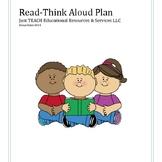 Read-Think Aloud Plan