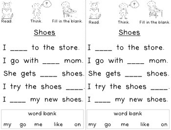 Read, Think, & Fill in the Blank