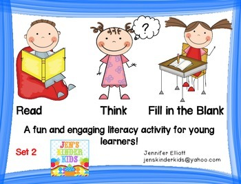 Read, Think, & Fill in the Blank  *SET 2*