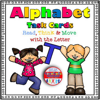 Alphabet Activities Letter Sound Task Cards the Letter T