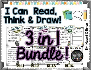Read, Think, and Draw 3 in 1 Bundle