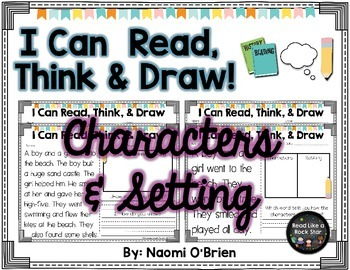 Read, Think, and Draw: Characters and Setting