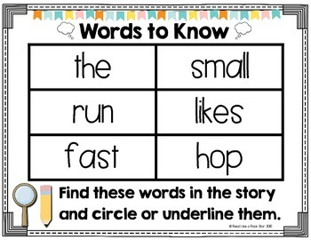 Read, Think, and Draw: Comprehension Questions