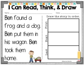Read, Think, and Draw: Story Retell
