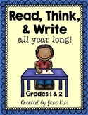 Read, Think, and Write: Grades 1 and 2