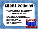 Read To Self-Silent Reading Poster-Daily 5-Stamina