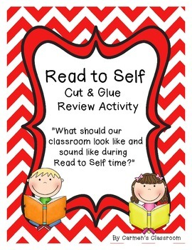 Read To Self - What Should Our Classroom Look and Sound Li