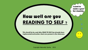 Read To Self STAMINA goal setting