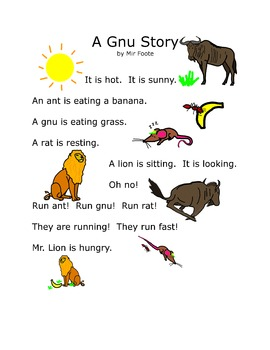 Read Together: A Gnu Story