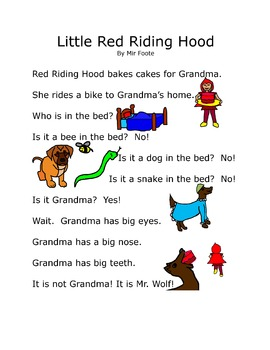 Read Together: Little Red Riding Hood