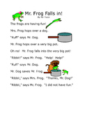 Read Together: Mr. Frog Falls In!