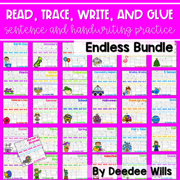 Read Trace Glue and Draw Endless Bundle