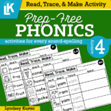 Read, Trace, & Make | Prep-Free Phonics | Distance Learning