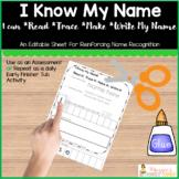 Name Practice in Kindergarten