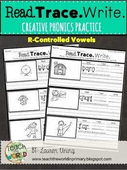 Read, Trace, Write: Creative Phonics Practice