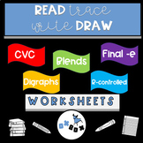 Read-Trace-Write-Draw Sentences: BUNDLE
